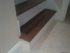steps with white riser