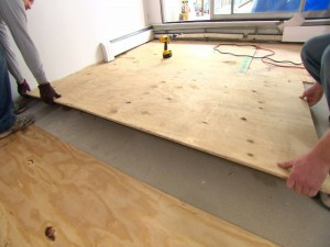 Lay a Subfloor If Needed
